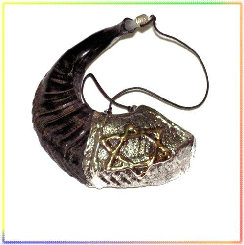 New Judaica Öl 33cm salbungs Silber Schofar aus der Heiligen Land