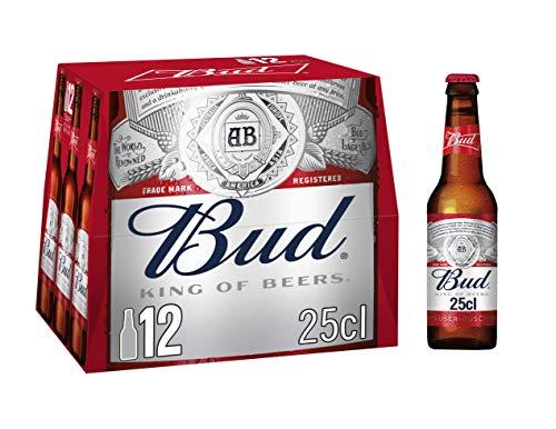 Bier Budweiser 12x25cl (Pack 12 Flaschen)