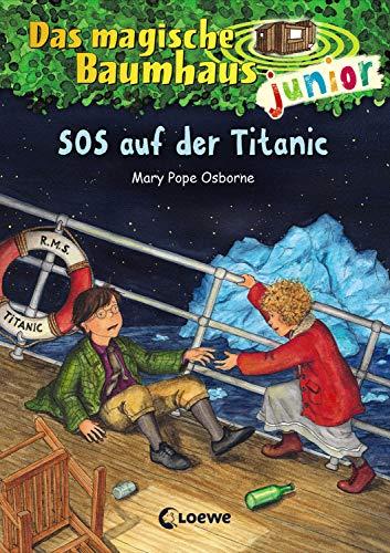 Das magische Baumhaus junior 20 - SOS auf der Titanic: Kinderbuch zum Vorlesen und ersten Selberlesen - Mit farbigen Illustrationen - Für Mädchen und Jungen ab 6 Jahre