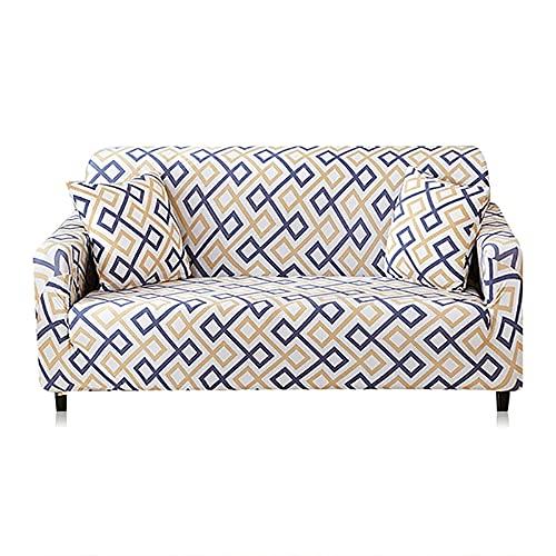 Funda de sofá Moderna Funda elástica para Silla, Protector de Muebles, Fundas de sofá para Sala de Estar A1, 1 Plaza