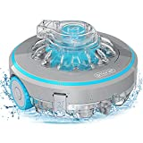 SMONET Cordless Robotic Pool Cleaner, Powerful Suction Automatic Pool...