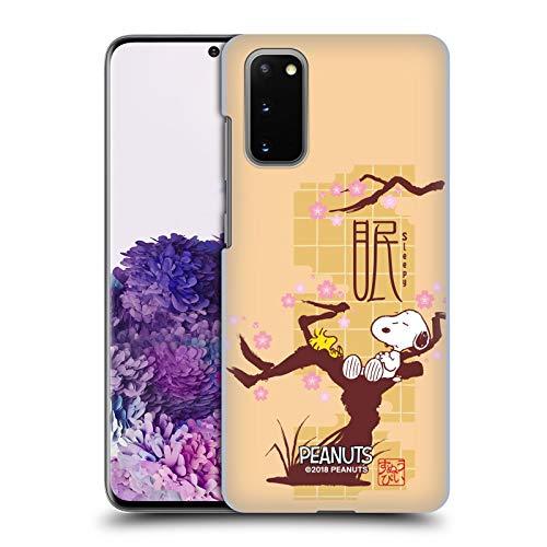 Head Case Designs Ufficiale Peanuts Assonnato Snoopy Orientale Cover Dura per Parte Posteriore Compatibile con Samsung Galaxy S20 / S20 5G