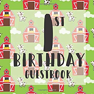 Best baby 1st birthday guest book ideas Reviews