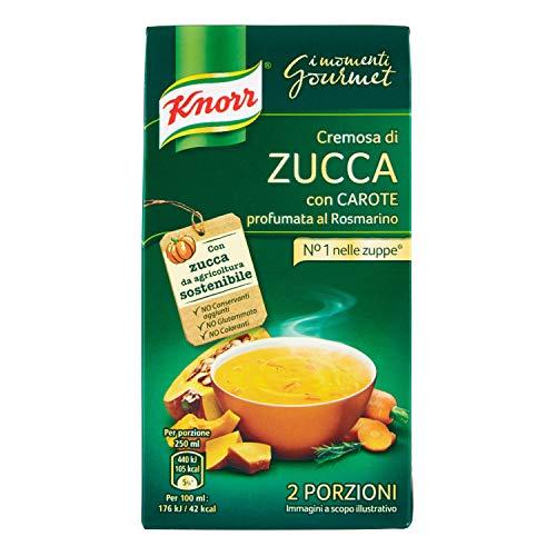 Knorr - KNORR PASSATO DI ZUCCA E CAROTE BIO ML 300 - 300 ML
