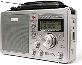 Eton S350DLS Deluxe AM/FM Shortwave Radio (Silver) (Discontinued by Manufacturer)