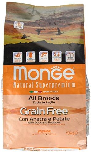Monge Grain Free Anatra/Patate kg. 2.5