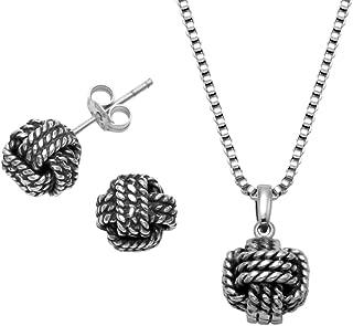 Stainless Steel Sailors Knot Pendant, 18