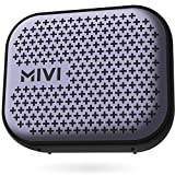 Mivi Roam 2 Wireless Bluetooth Speaker 5W, Portable Speaker with Studio Quality Sound, Powerful Bass, 24 Hours Playtime, Waterproof, Dual Pairing, Bluetooth 5.0 and in-Built Mic with Voice Assistance