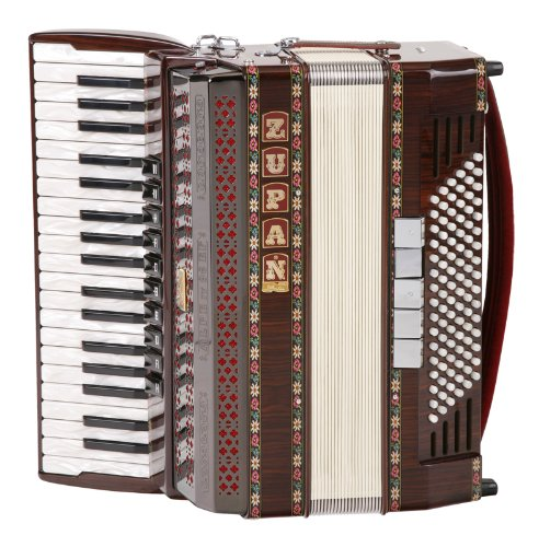 3. Acordeón Zupan Alpe IV 96/MHR | Instrumento exclusivo para profesionales y estrellas.