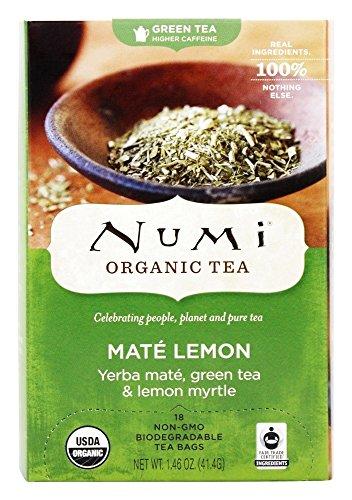 Numi Tea Mate Lemon Rainforest Green Tea - 18 Bags
