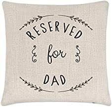 Best reserved for dad pillow Reviews
