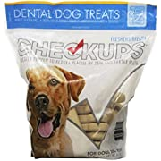 Checkups- Dental Dog Treats, 24ct 48 oz. for dogs (Pack of 2) ,Checkups-fj
