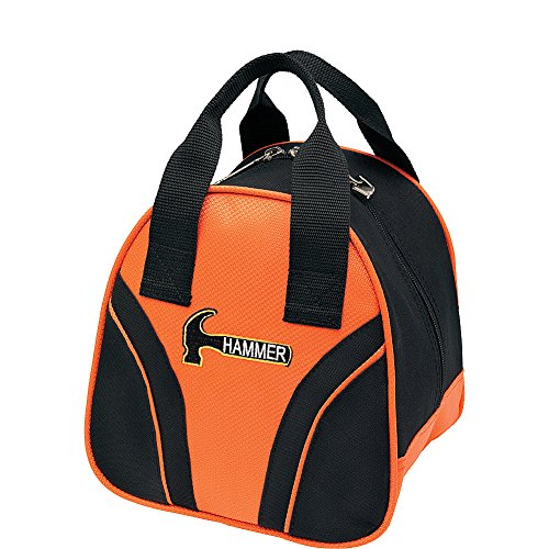 HAMMER Plus 1 Bowling Bag, Unisex, schwarz/orange