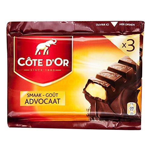 32 x Chocolade Reep Cote d'Or Advocaat 47.5 gram
