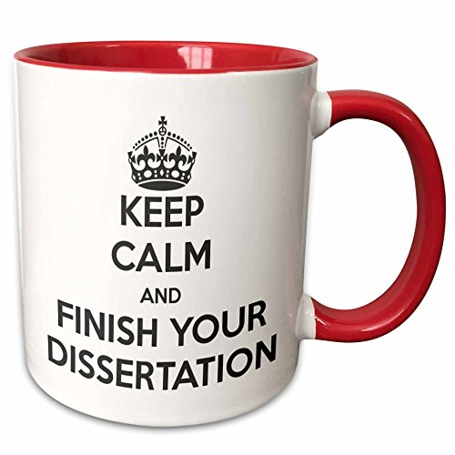 Finish Your Dissertation Mug