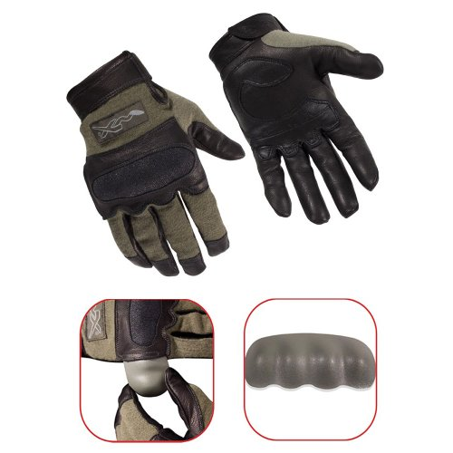 Wiley X Hybrid Gloves Foliage Green Large G242LA