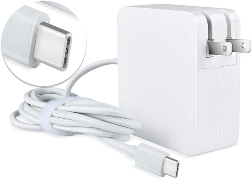 Max 83% OFF TOP+ White Super-cheap 5ft 65W Type-C USB-C HP Adapter 925740 for Charger AC