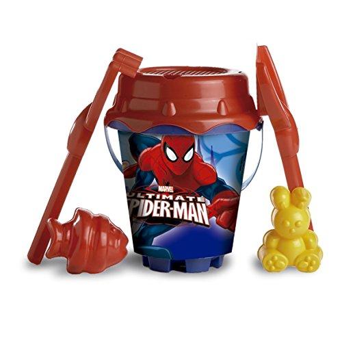 Spiderman Mondo Toys 311001 – Set de Plage avec Seau et Accessoires