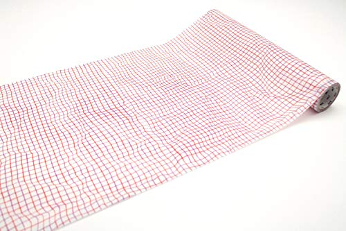 mt Geschenkpapier, gerittert, 230 mm x 5 m, Rot