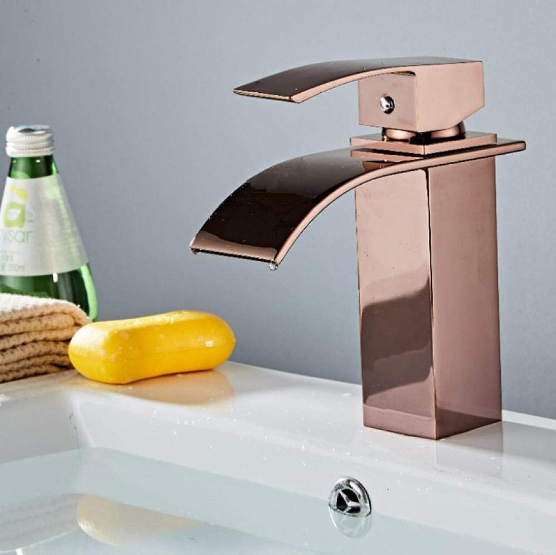 Lddpl Wasserhahn Waschtischarmaturen Moderne Bad Mischbatterie Wei Waschtischarmatur Einhand Einlochmontage Hei- und Kaltkran Für Bad