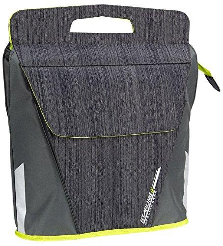 Starling Satteltasche Shopper FAHRRADTASCHE Einkaufstasche Beutel mit Gepäckträgerhalter Fahrrad