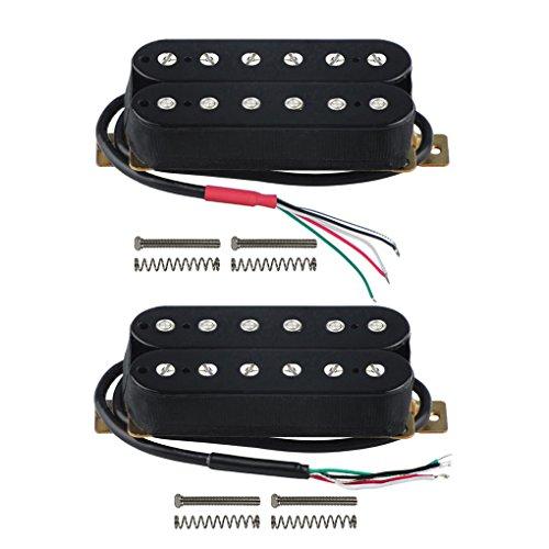 FLEOR Electric Guitar Humbucker Pickups Double Coil Guitar Bridge Pickup