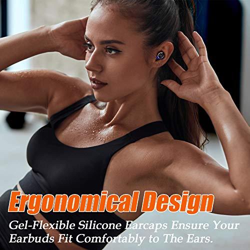 Wireless Mini Headphones, Bluetooth 5.0 Earbuds