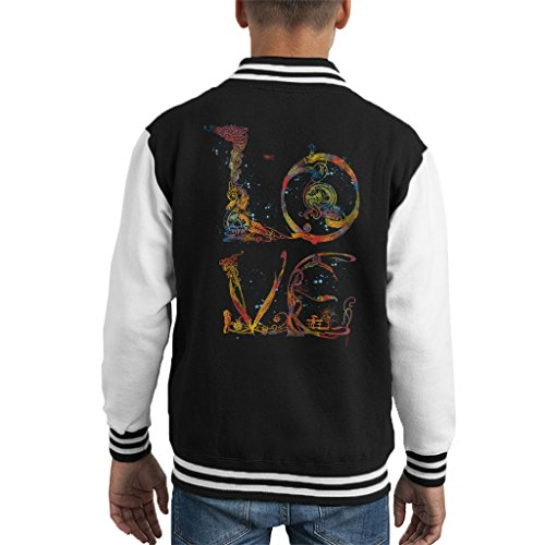 Love Letters Kid's Varsity Jacket