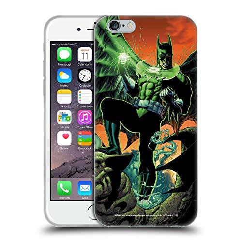 Head Case Designs Oficial Batman DC Comics Linterna Verde Disfraces icónicos Carcasa de Gel de Silicona Compatible con Apple iPhone 6 / iPhone 6s