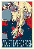 Instabuy Poster Violet Evergarden Propaganda Violet - A3 (42x30 cm)