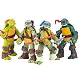Ninja Turtles Set of 4 Pieces | Teenage Mutant Turtles Action Figure | Action Figures | Ninja Turtles Toy Set - Ninja Turtles Action Figures Mutant Teenage Set