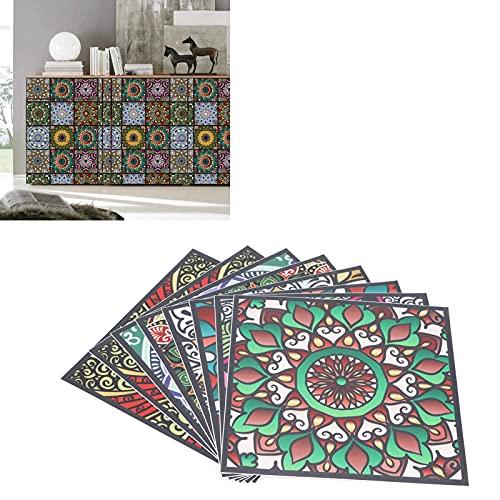 Hatirea Adhesivo para Azulejos, calcomanías Autoadhesivas Antideslizantes para Azulejos para Apartamentos para cocinas para baños
