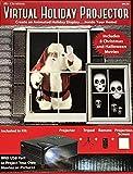 Virtual Holiday Projector - 8 Christmas and Halloween Movies