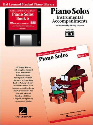 Piano Solos Book 5 - GM Disk: Hal Leonard Student Piano Library