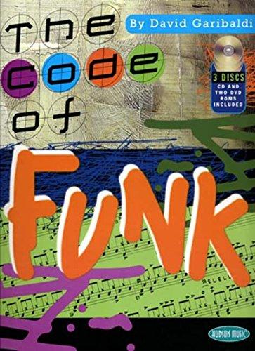 David Garibaldi: The Code Of Funk Drums (Book, CD, DVD): Noten, CD, DVD (Video) für Schlagzeug