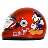 ACTIVE CANDY-1 Full Face Helmet for Kids from 2 to 5 Years (ORANGE,Size-Extra Small)(CARTOON CHARACTERs MAY VERY) (ORANGE)