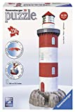 Ravensburger - Puzzle 3D Building: Faro (12565 4) , color, modelo surtido