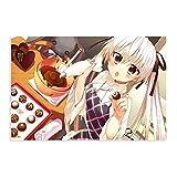Póster de anime Yosuga No Sora - Sora Kasugano 12 lienzo para decoración de dormitorio, deportes, paisaje, oficina, habitación, decoración, regalo, 50 x 75 cm