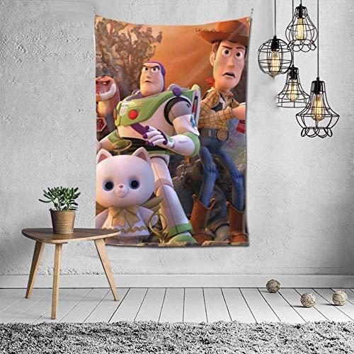 Toy Story Tapisserie Wandbehang DekorationWandbehang im Schlafzimmer SchlafsaalStilvolle Farbe