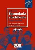 Diccionario de Secundaria y Bachillerato (Vox - Lengua Española - Diccionarios Escolares) - 9788499742243