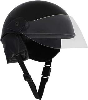 Sage Square Aero Half Helmet (Black Glossy) (Medium)