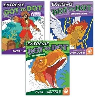 MindWare Extreme Dot to Dot: Legends Set of 3