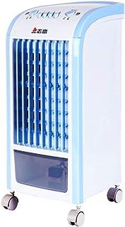 WDX- Ventilador de refrigeración silencioso Ahorro de energía Ventilador de Aire refrigerado por Agua pequeño acondicionador de Aire Frio (Color : Blue)