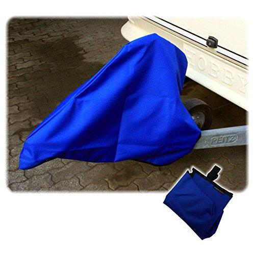 Freizeit Wittke Deichselhaube BLAU Deichselabdeckung Kupplungsabdeckung Nylon Gr. 12 Blau