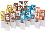Tombow Scatola di 12ricariche per portamine 4H bianco/marrone