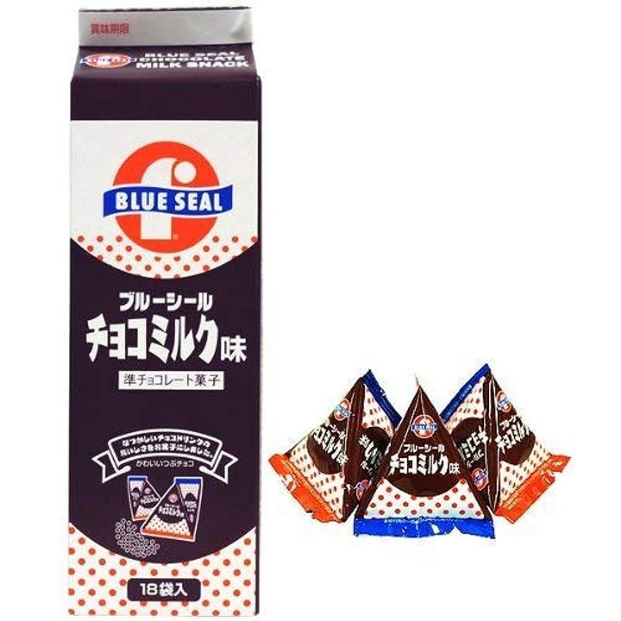 光閉塞愛情深いブルーシール チョコミンツ 18袋入×3P 沖縄物産企業連合 沖縄を代表するアイス屋さん?ブルーシールのチョコミンツ レトロなパッケージ 沖縄土産におすすめ