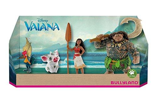 Bullyland 13190 - Spielfigurenset, Walt Disney Vaiana, 4 teilig