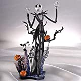 Ldwxxx LLJJ Skellington Animado Figura Modelo Estatua Hecha a Mano Decoración de Colección Niños s Juguetes 20CM Regalo