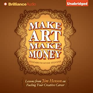 Make Art Make Money audiobook cover art