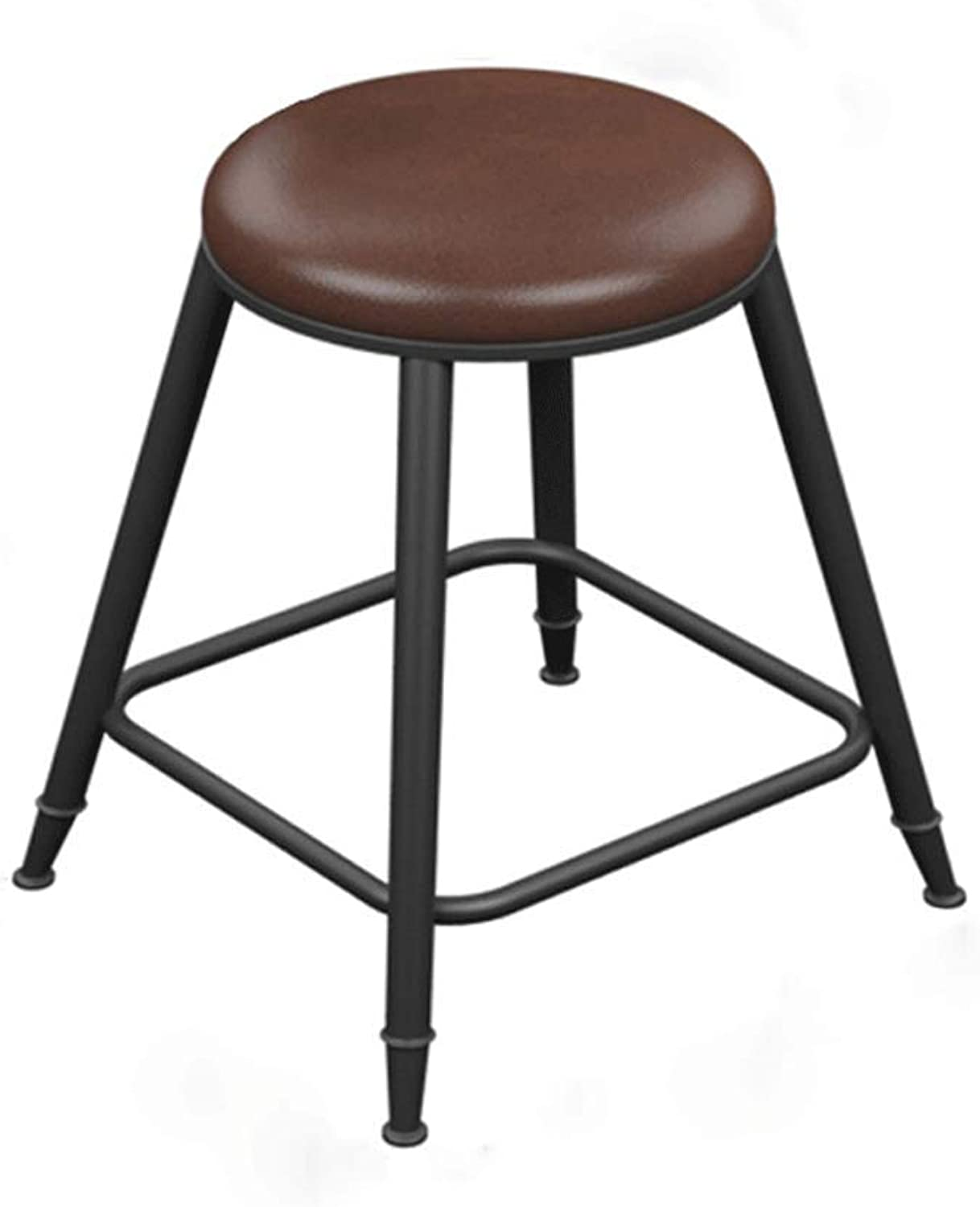 SLH Iron Bar Chair Simple High Stool High Chair (Size   S)